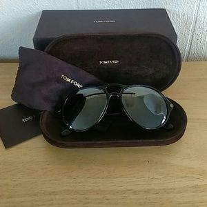 Tom Ford Accessories - Tom Ford Jasper TF245 Sunglasses Gray